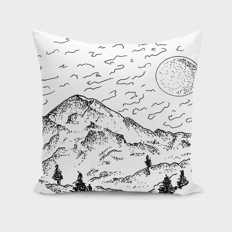 Sketch 12 - Mountain View