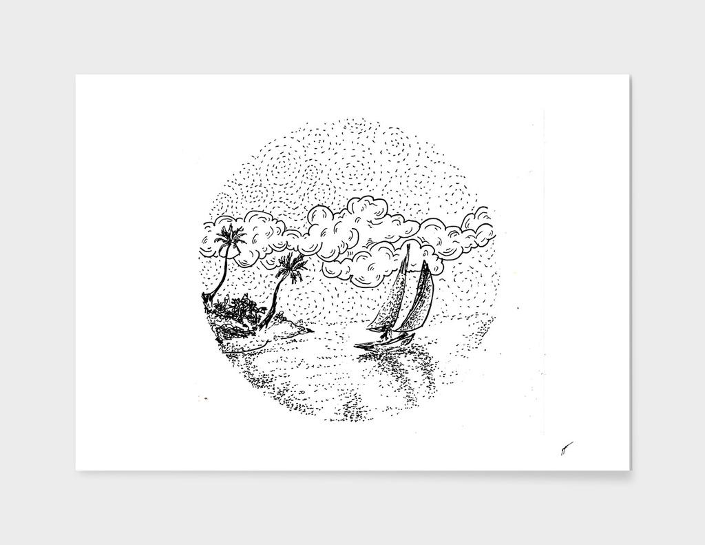 Sketch 13 - Sailing