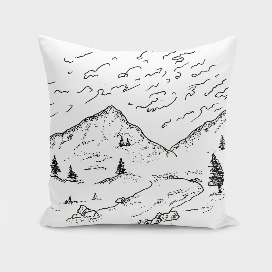 Sketch 14 - Mountain View