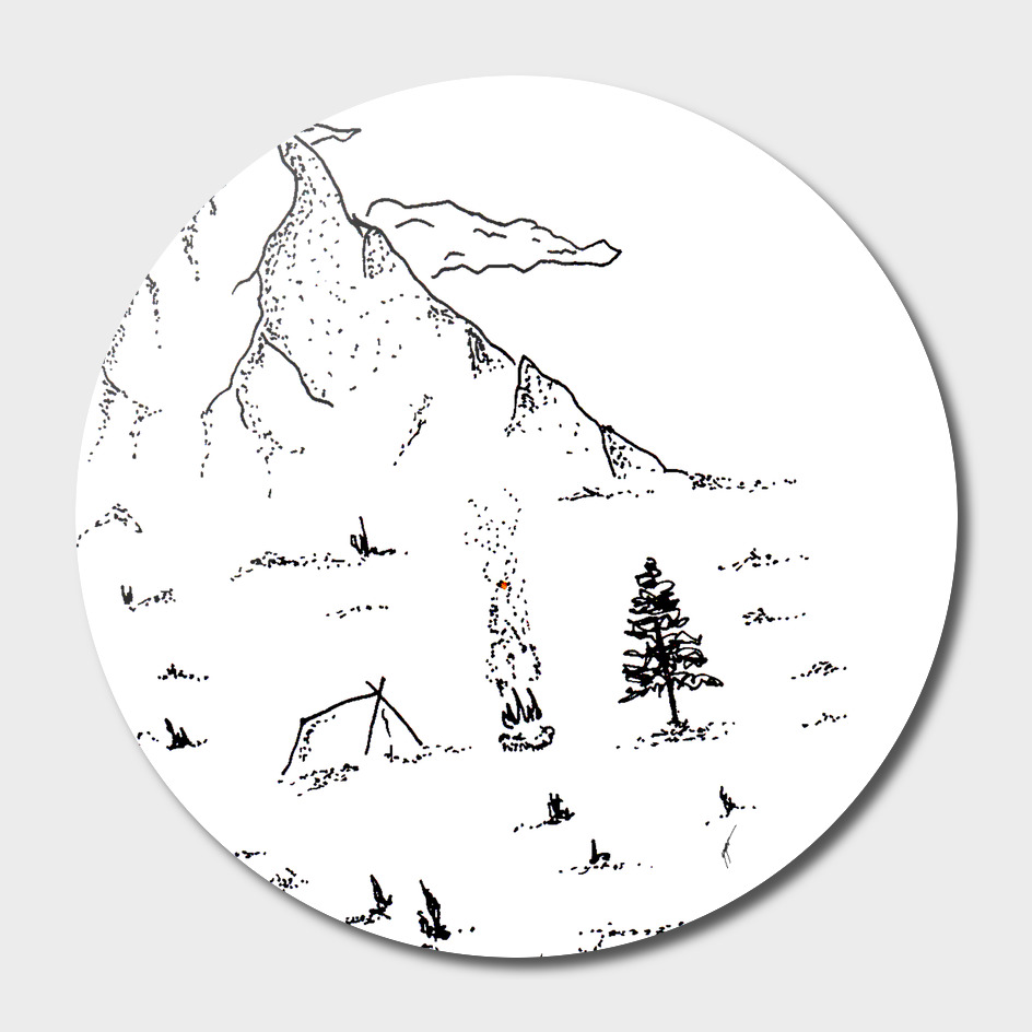 Sketch 19 - Mountain View