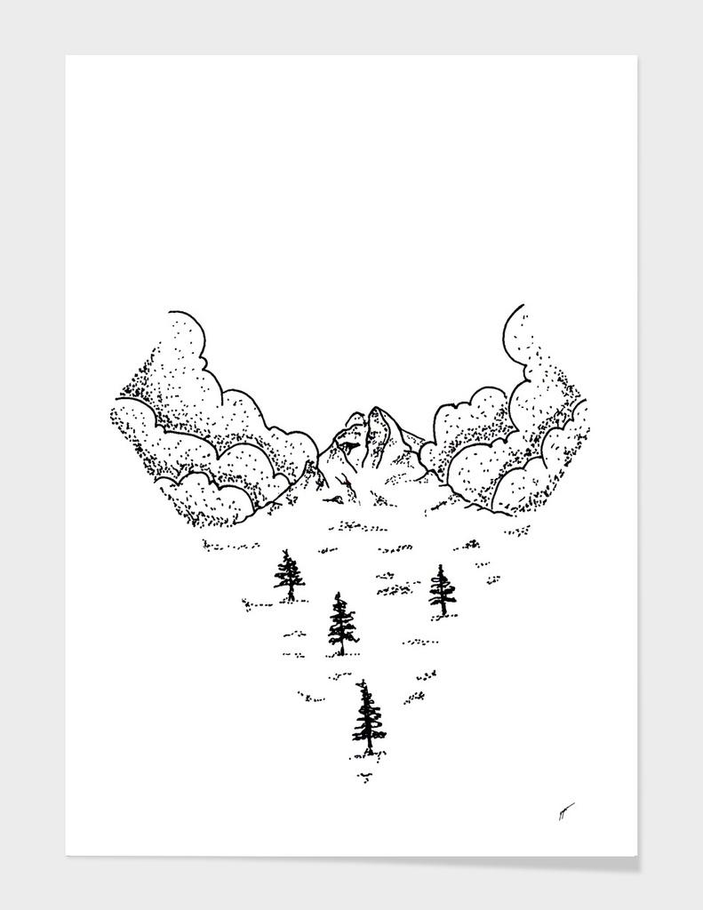 Sketch 20 - Mountain View