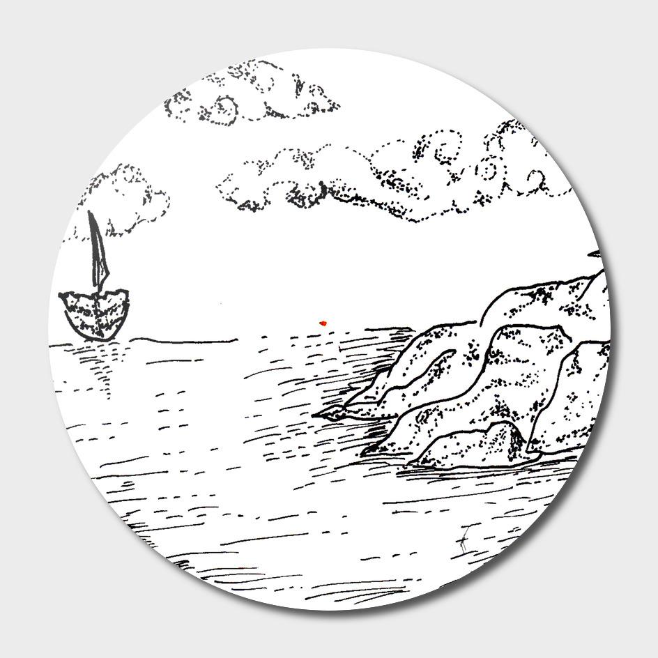 Sketch 21- Sailing