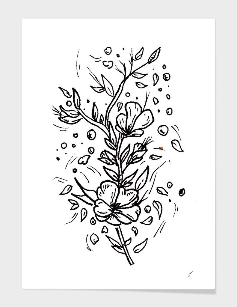 Sketch 23 - Flower