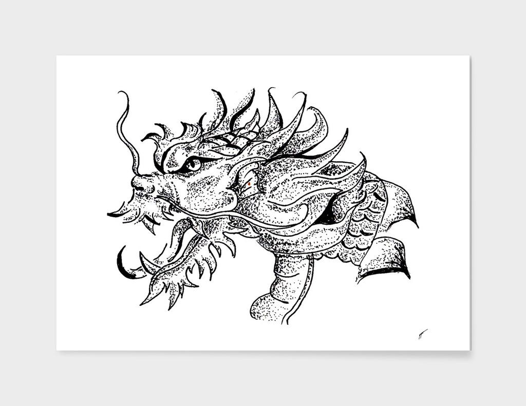 Sketch 27 - Dragon head