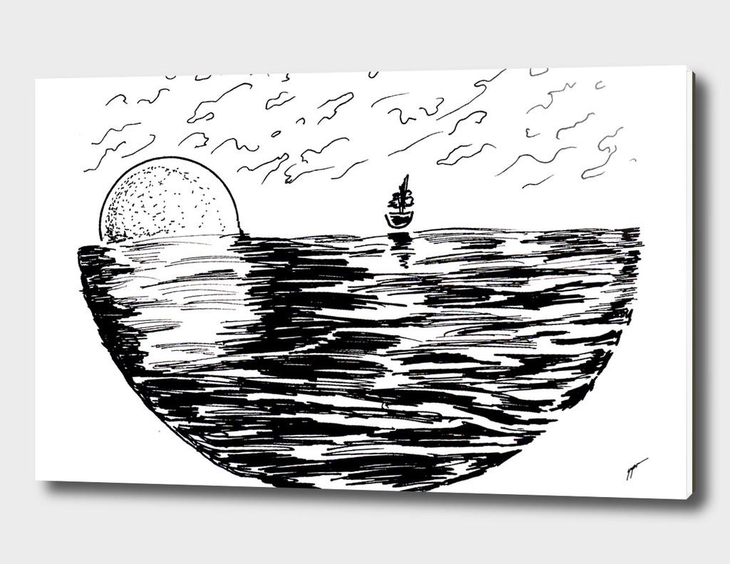 Sketch 29 - Sailing