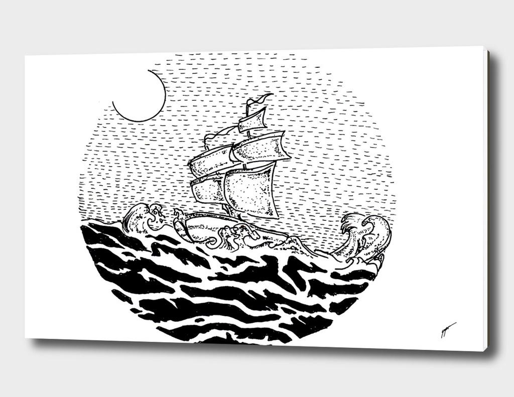 Sketch 30 - Sailing