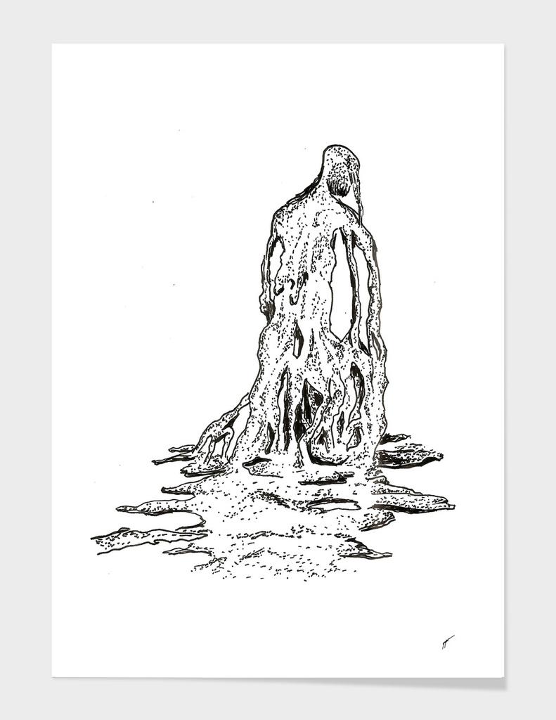 Sketch 32 - Melted