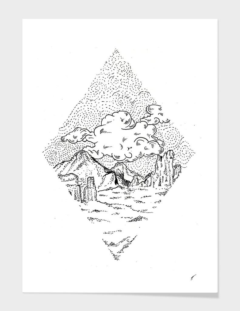 Sketch 33 - Mountain View