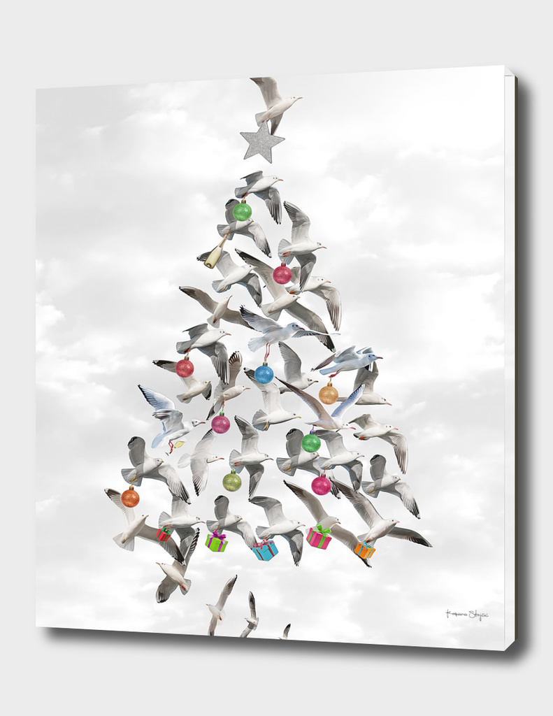 Seagulls Christmas Tree