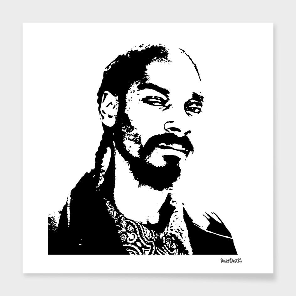 Snoop Dogg Stencil