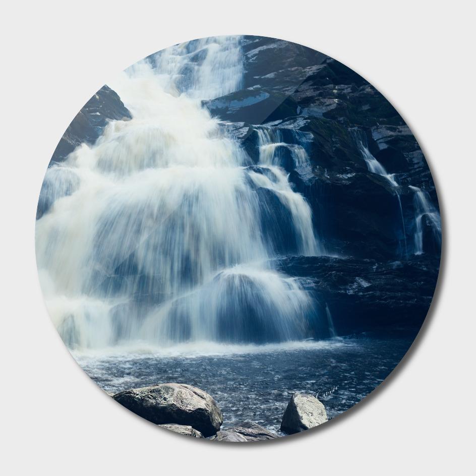 Waterfall at Wachonah state park