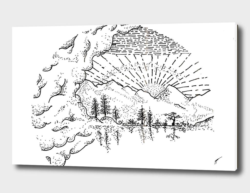 Sketch 37 - Mountain View