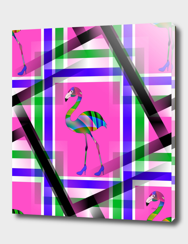 Chic Flamingo Pattern