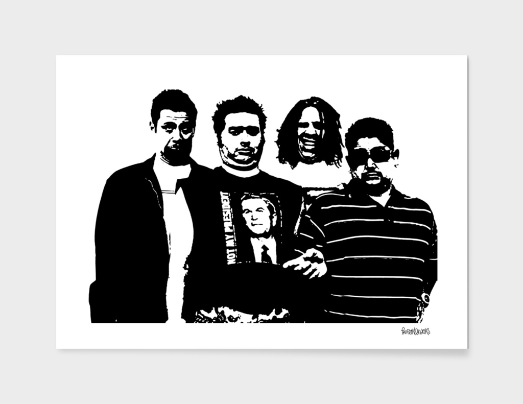NOFX Stencil