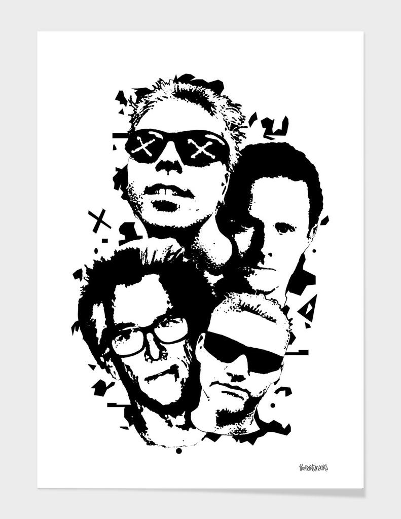 the Offspring Stencil