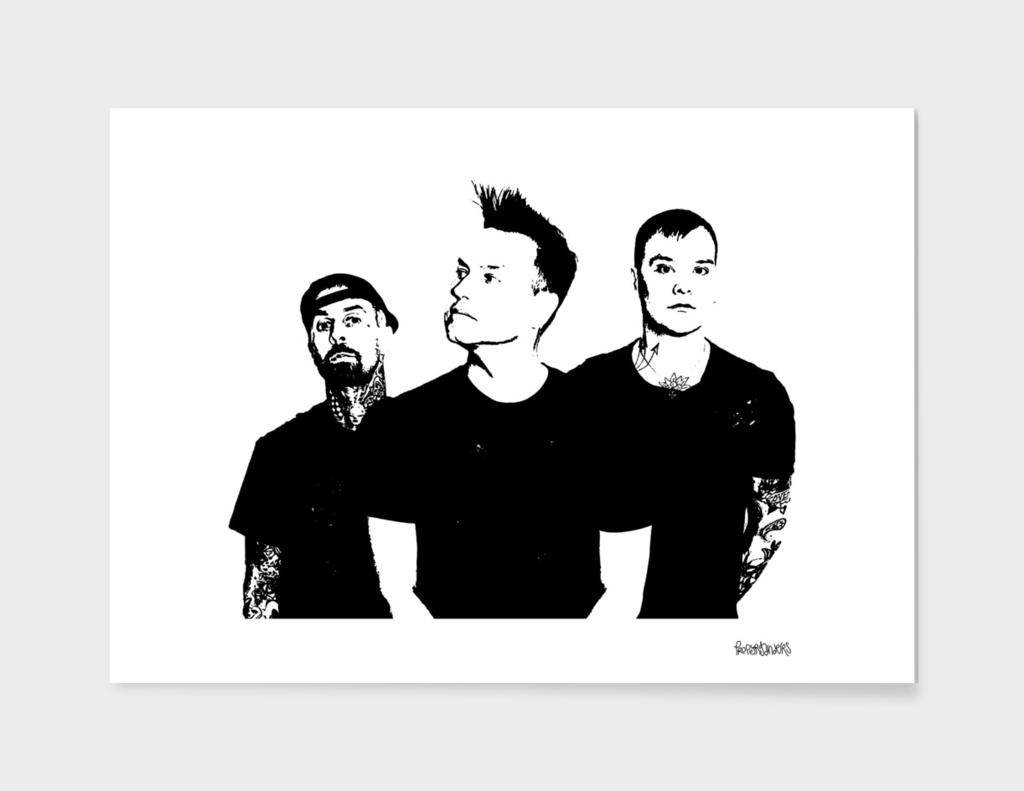 Blink 182 Stencil