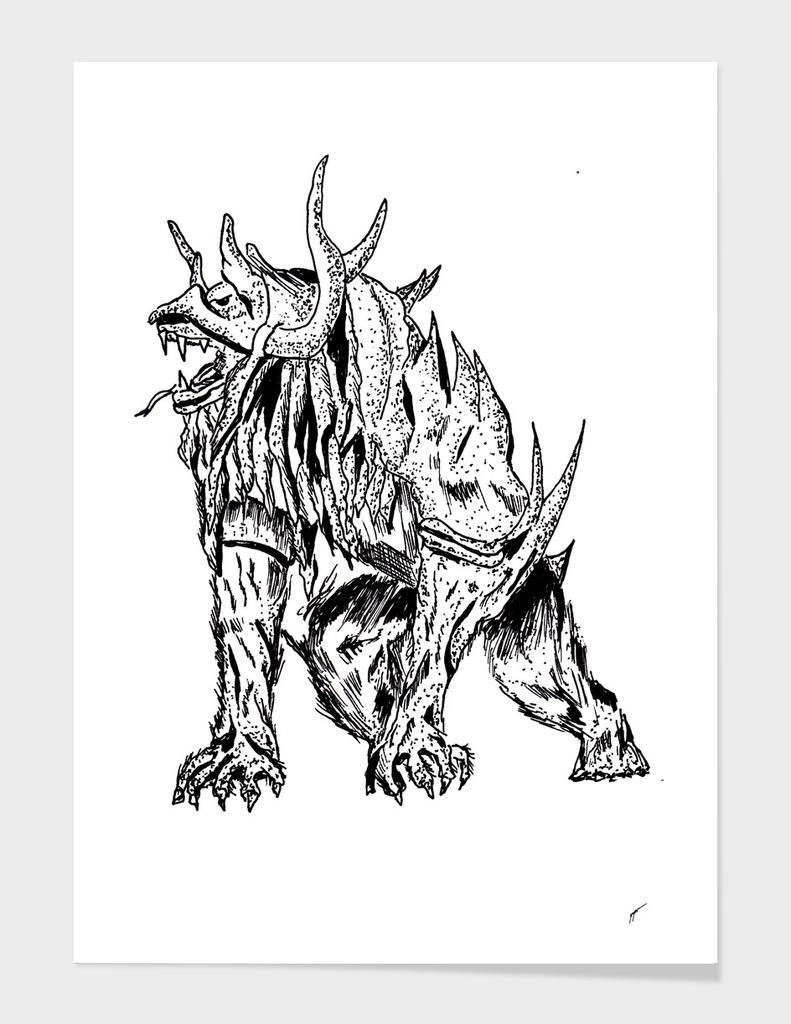 Sketch 52 - Monster