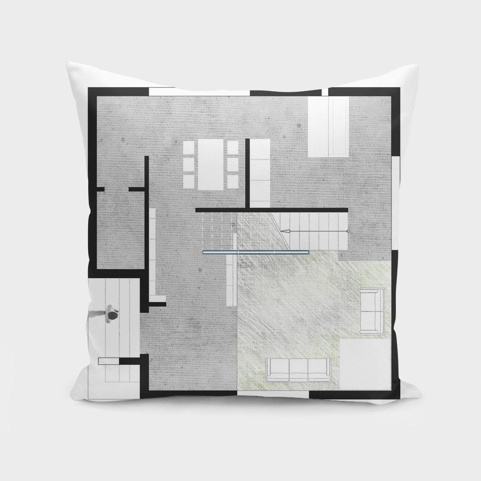 ilusion cube house