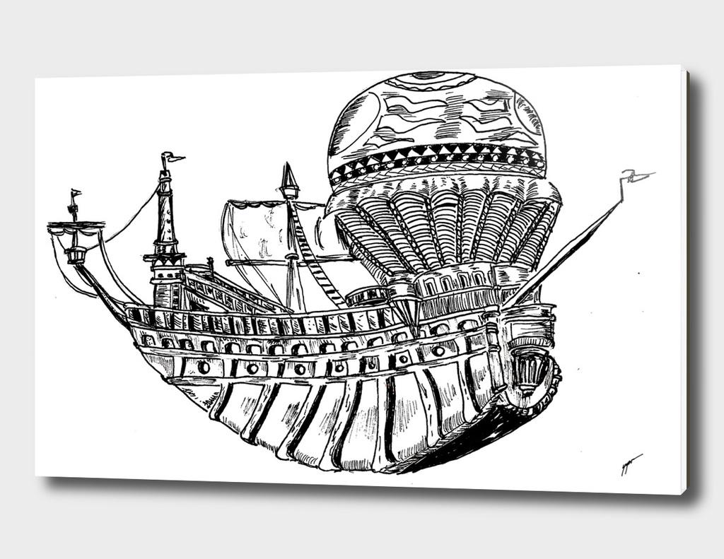 Sketch 60 - Ship