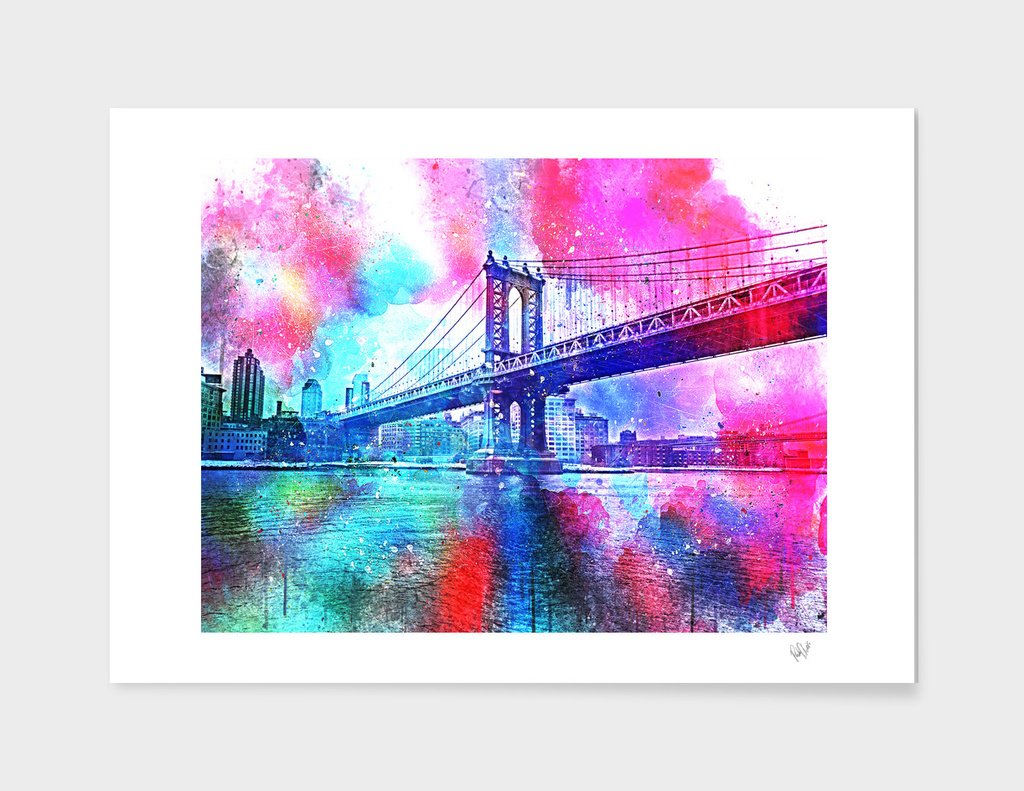 color explosion new york photograph
