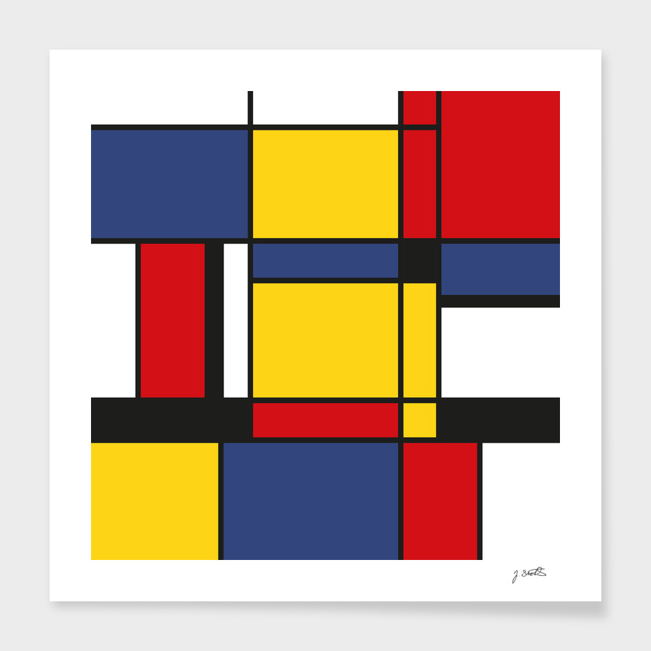 Downtown, Tribute to Mondrian