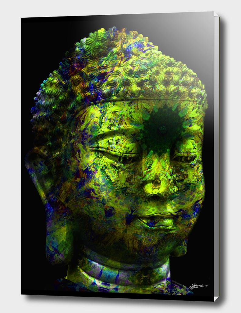 Gautam Colorful buddha