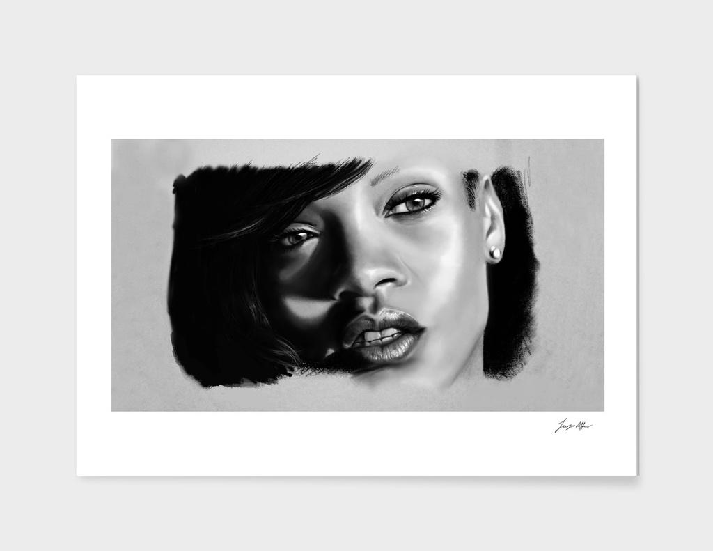 Rihanna Portait