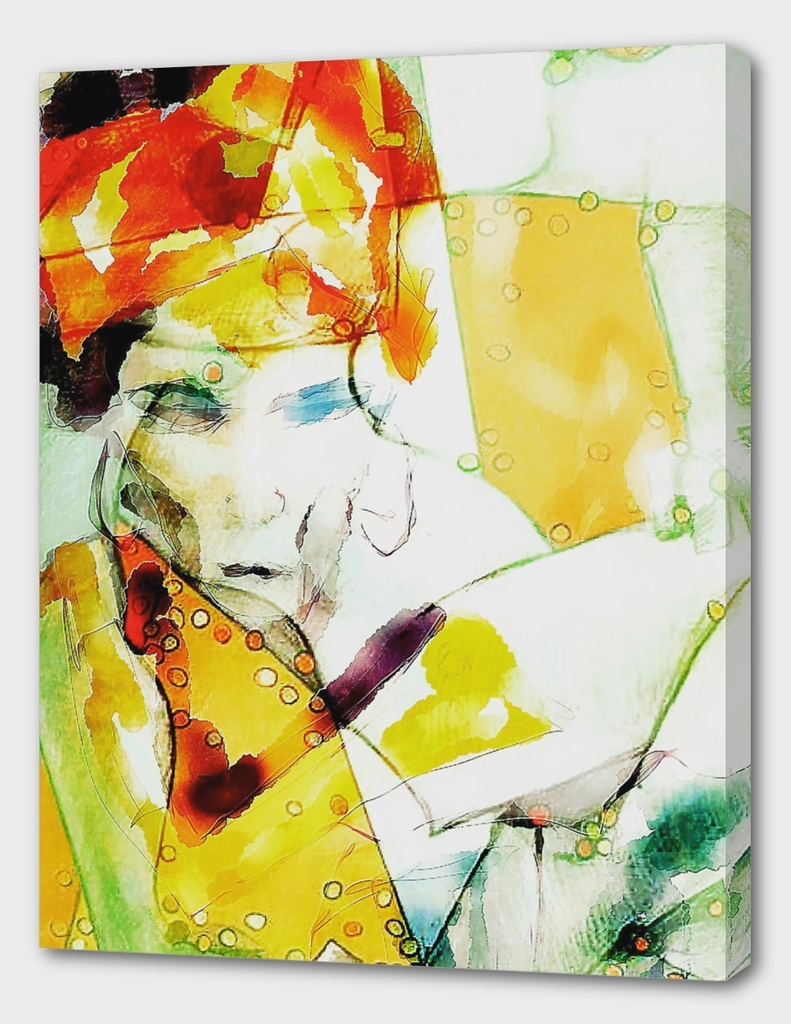 Lena in turban