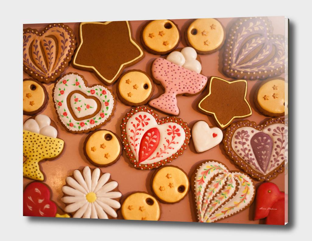 Christmas homemade gingerbread cookies!