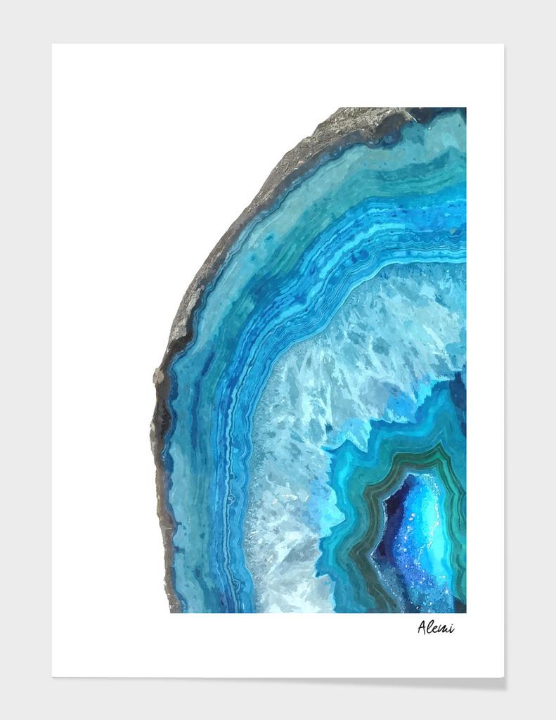 Druze Blue Agate