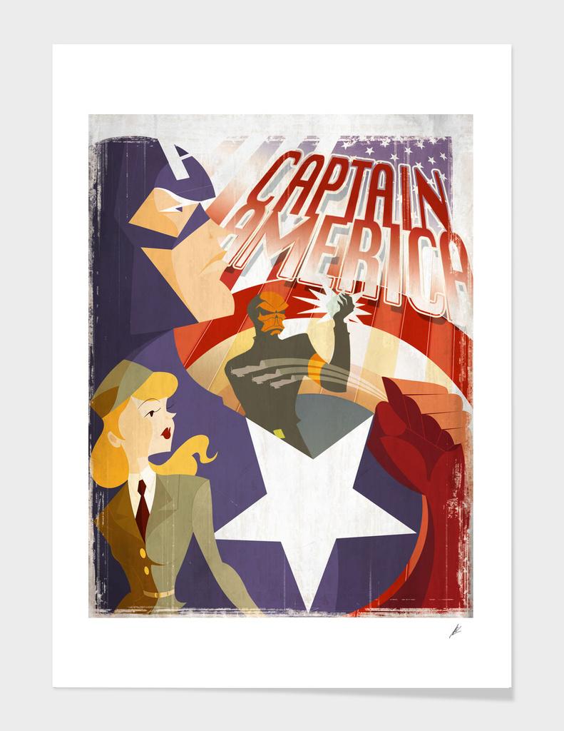 Captain America Vintage
