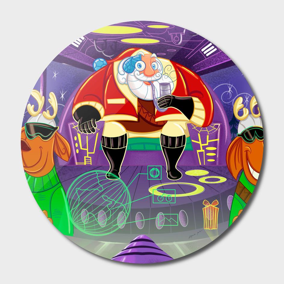 Space Santa Claus