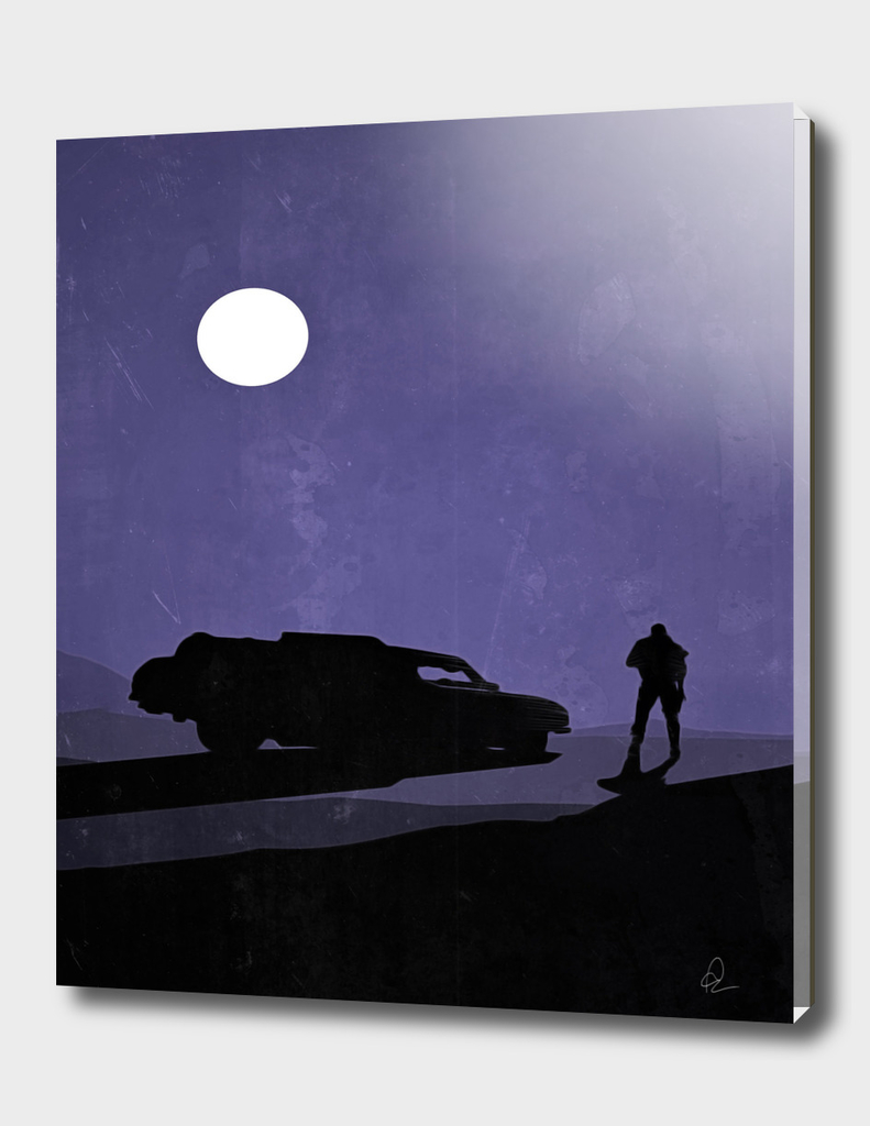 Mad Max Vintage Poster