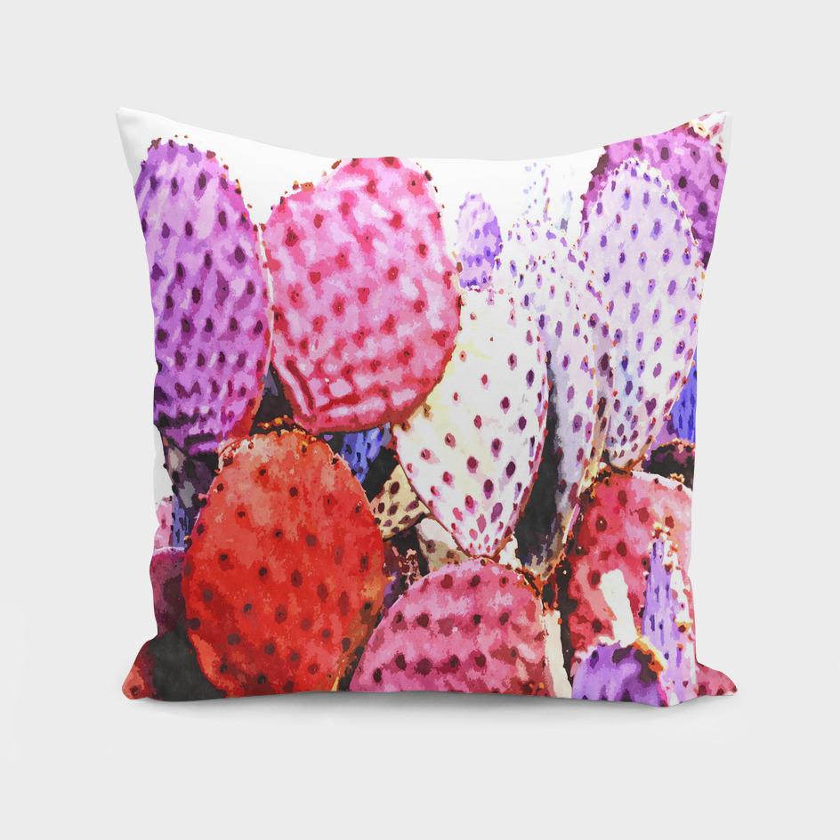 Purple Cactus Illustration