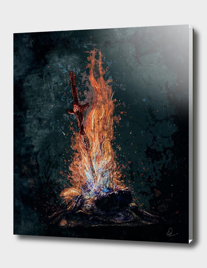 Dark Souls *Bonfire in Daylight*