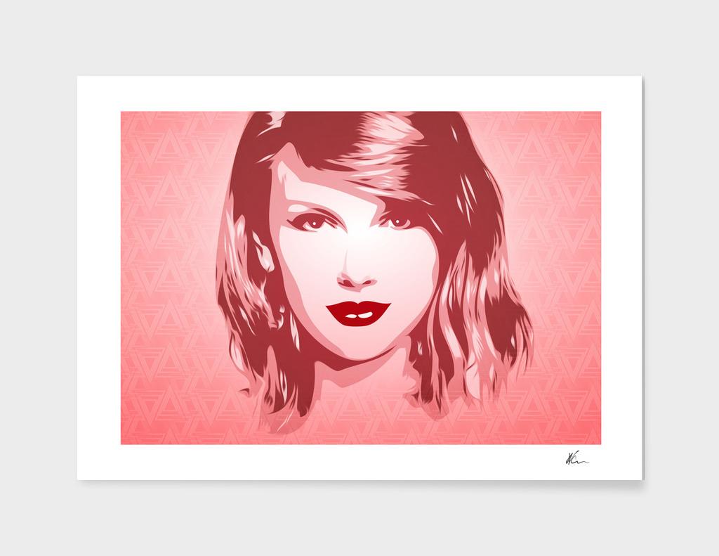 Taylor Swift - Pop Art