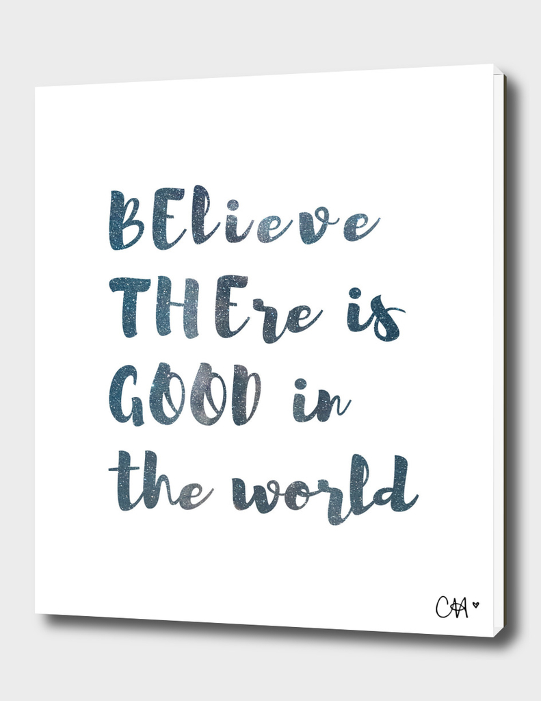Be the Good