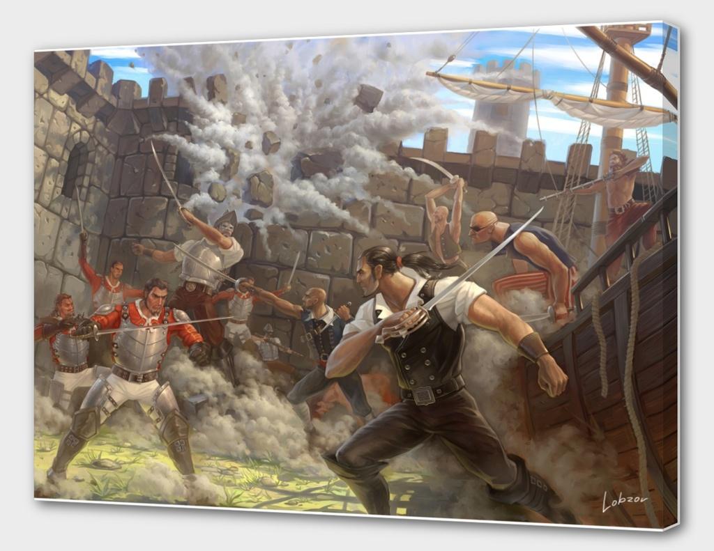 Pirate assault