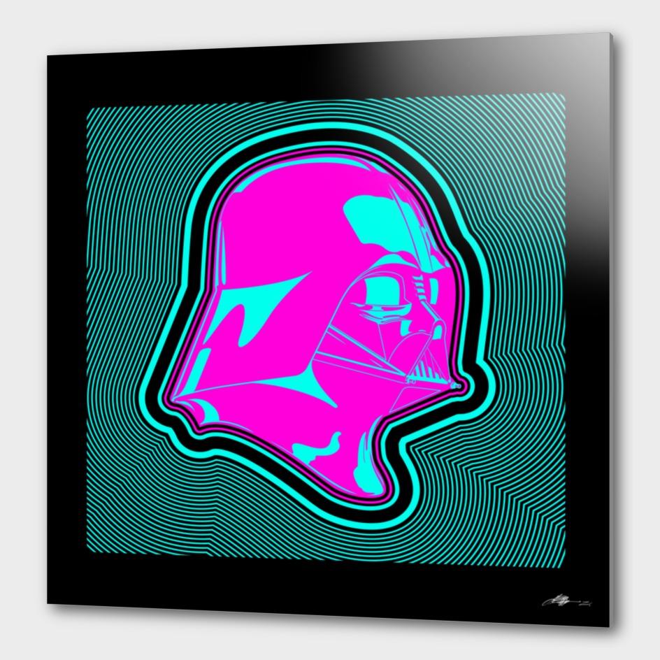 StarWars - Pink Darth Vader - Composition II