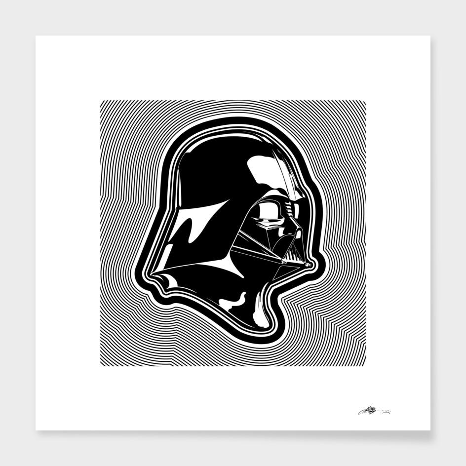 Star Wars - Black Darth Vader - Composition III
