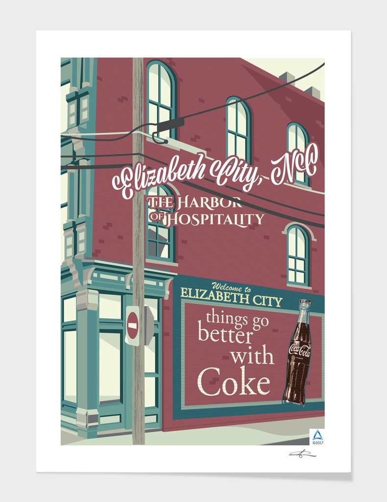 "Elizabeth City: Harbor of Hospitality ""Taste of Coca Cola"""