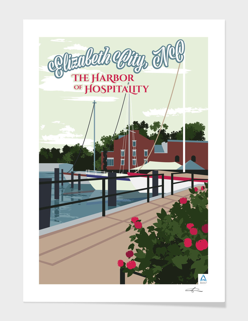 "Elizabeth City: Harbor of Hospitality ""Wharf"""