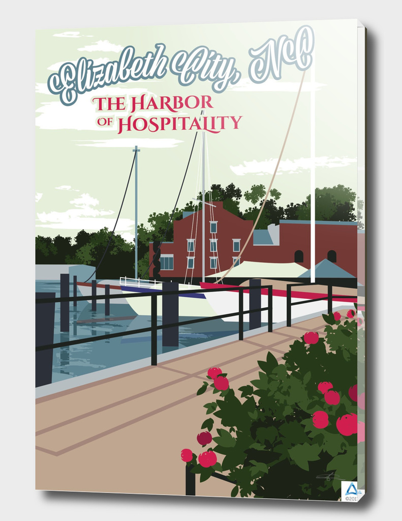 "Elizabeth City: Harbor of Hospitality ""Wharf"""