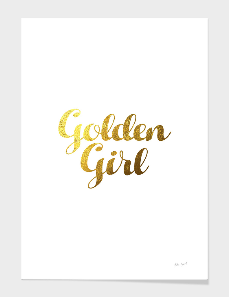 GOLDEN GIRL