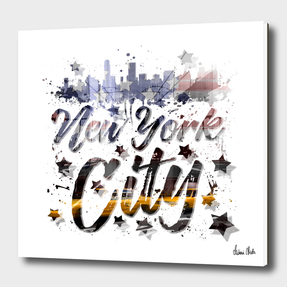 City-Art NYC Composing | Typography