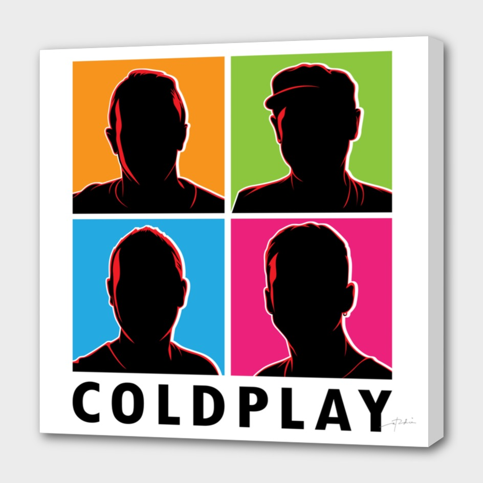 Coldplay Silhouette