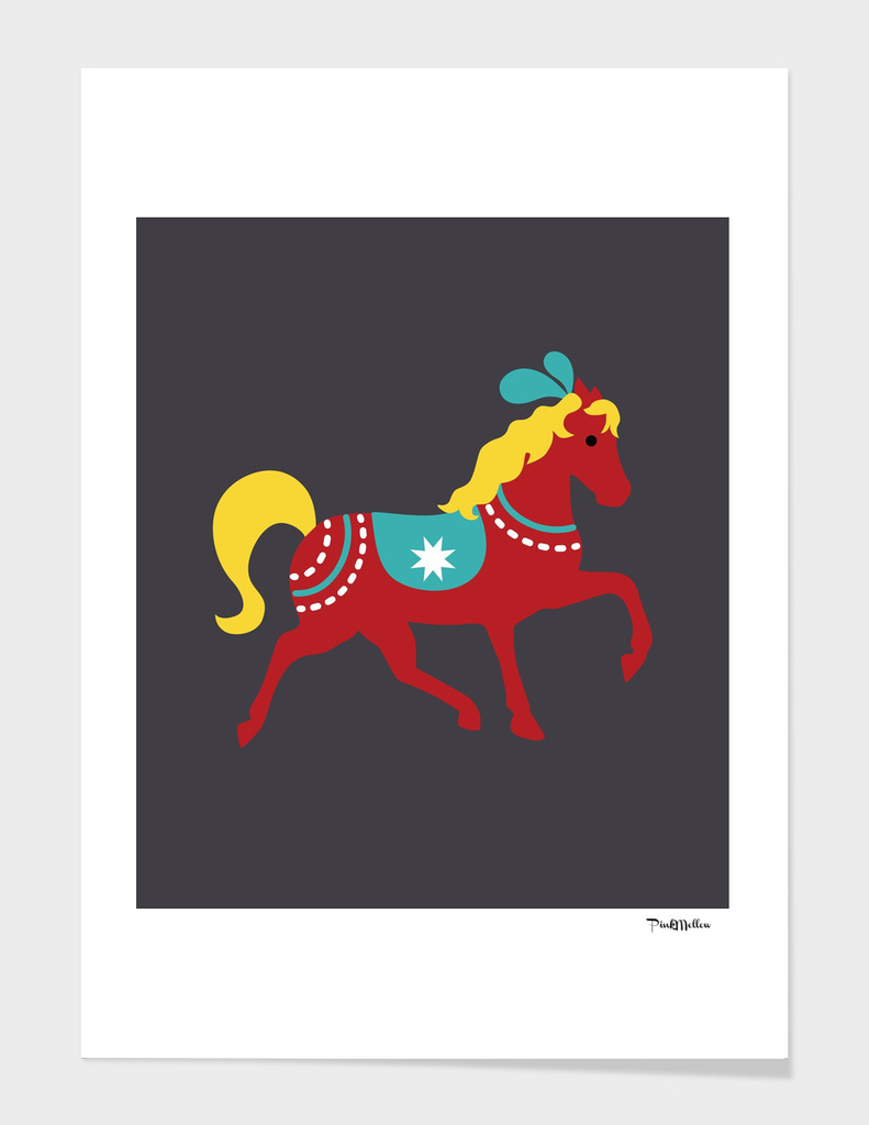 Decorative horse