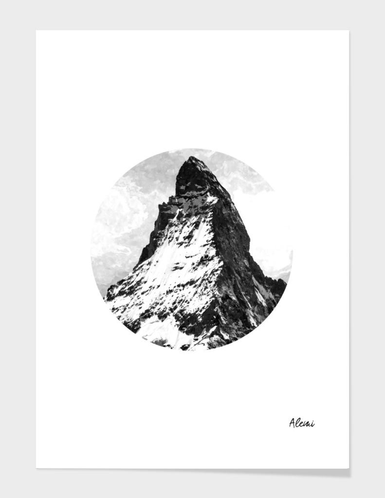 Circle Geometric Mountain