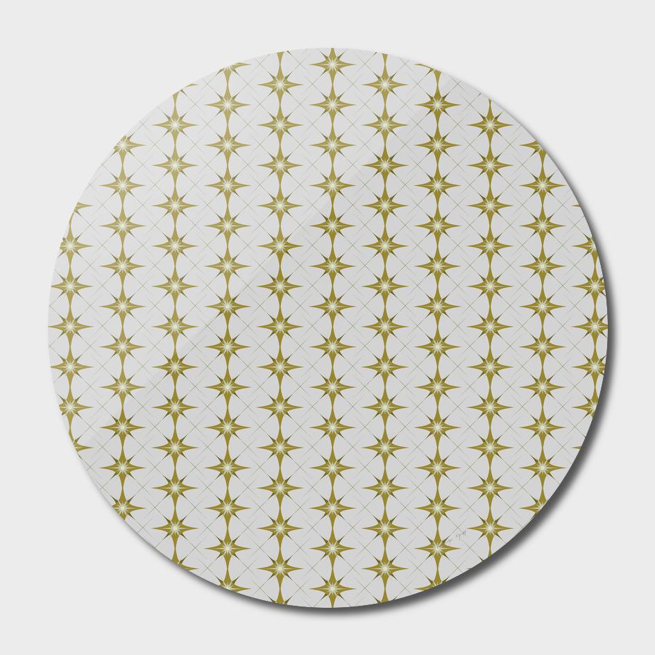 Gold and Cream Diamond Wallpaper