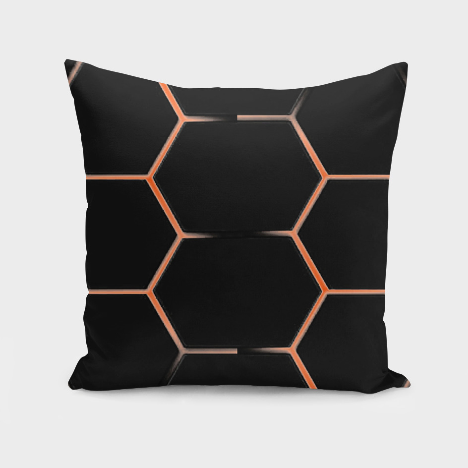 Honeycomb Lava black
